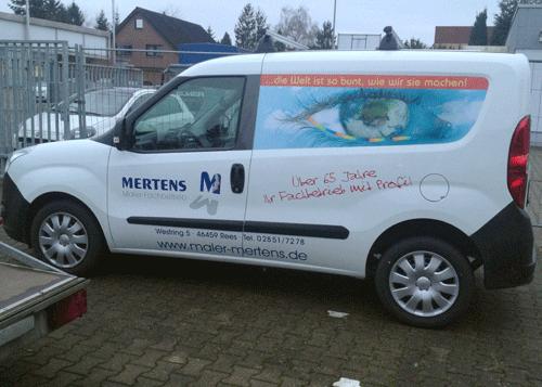 Opel Combo Seite