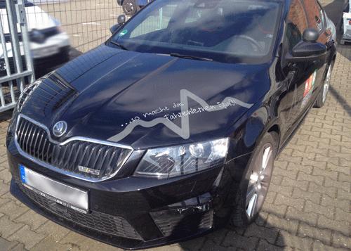 Skoda RS Motorhaube