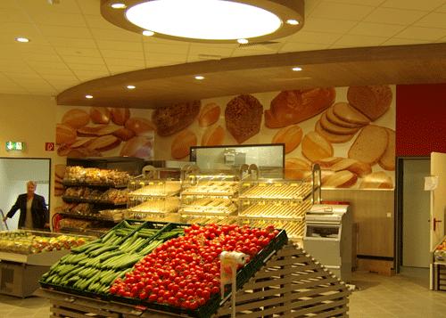 Wandbild Brotmotiv