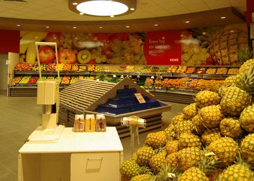 Wandbild Obst & Gemüse