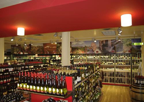 Blende mit Weinmotiven