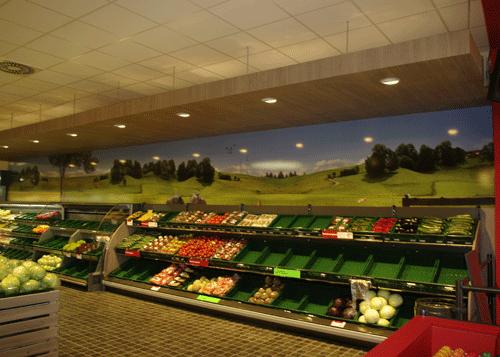 Wandbild Wiesenpanorama