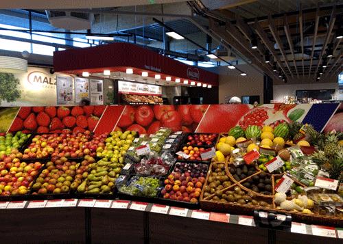 Collage Obst und Gemüse Teil 1