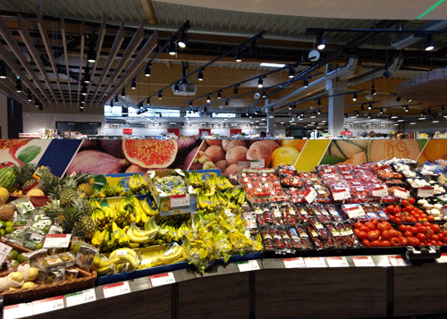Collage Obst und Gemüse Teil 2
