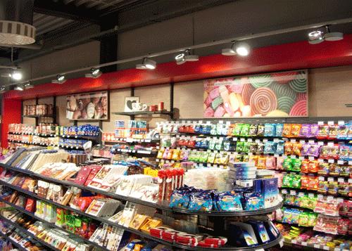Wandbilder Süßwarenabteilung