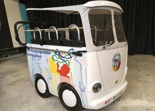 Cabrio Kinderwagen DRK Kita Abenteuerland