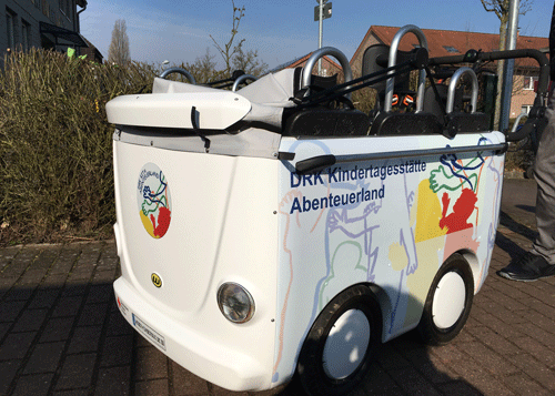 Kinderwagen DRK Kita Abenteuerland